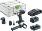 Mobile Preview: Festool Akku-Schlagbohrschrauber PDC 18/4 5,2/4,0 I-Set-SCA QUADRIVE 18 V / 1x 4,0 + 1x 5,2 Ah Akku + Ladegerät inkl. Zubehör-Set in Systainer - 576468