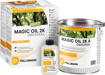 Pallmann Magic Oil 2K  Farblos (Komponenten A+B)