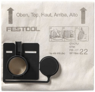 Festool Filtersack FIS-CT 22 SP VLIES/5 - 456870